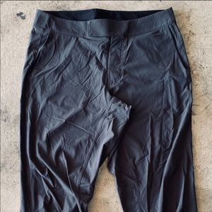 Lululemon 34 legging pant men NWOT gray black